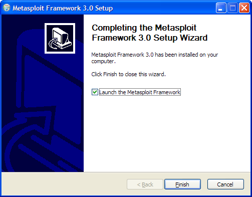 how to start metasploit framework in windows